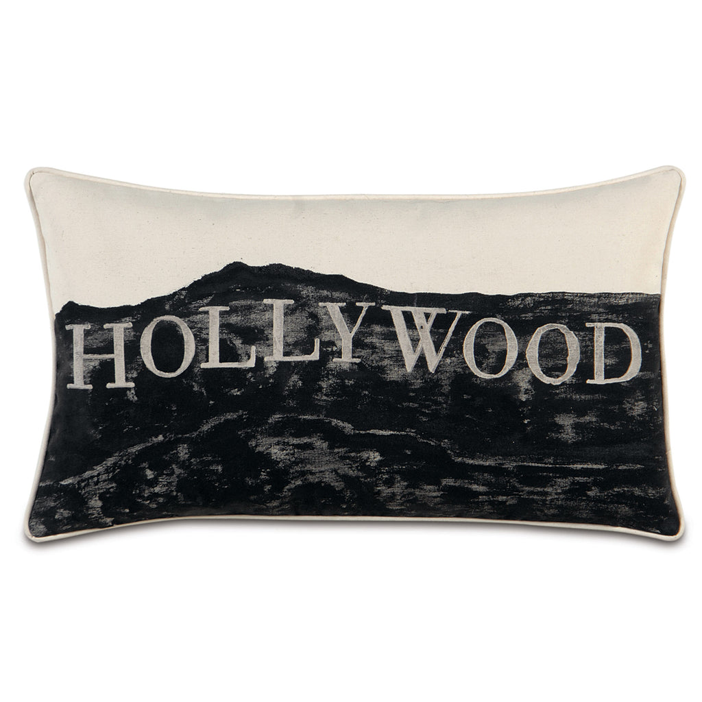 "Passport Hollywood Decorative Pillow 15""x26"""