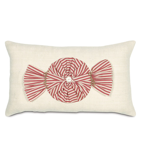 "Peppermint Treat Decorative Pillow Cover 13"" x 22"""