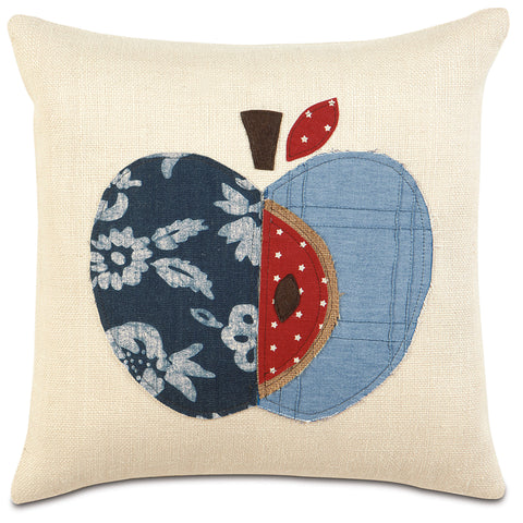 "Americana Decorative Pillow 18""x18"""