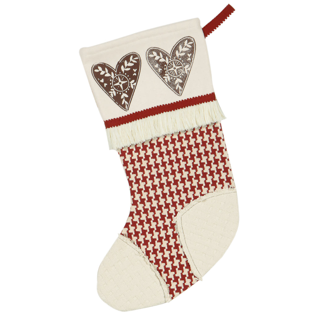 "Nordic Holiday Seasons of Love Stocking 20""x12"""