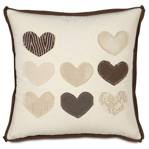 "Heart O' Love Decorative Pillow 20""x20"""