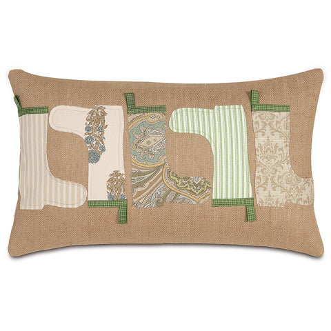 "Garden Decorative Pillow 13""x22"""