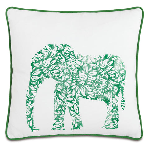 "Wild Things Elephant Decorative Pillow 18""x18"""
