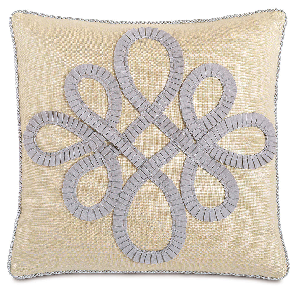 "Being Pear Linen Decorative Pillow 20""X20"""