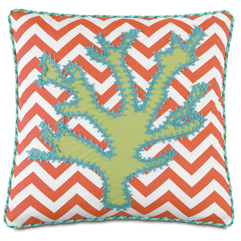 "Tropical Decorative Pillow 20""x20"""