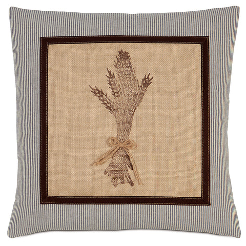 "French Country Decorative Pillow 18""x18"""