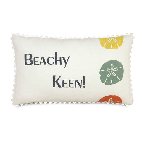 "Tropical Beach Bum Decorative Pillow 13""x22"""