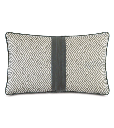 "Modern Pathway Decorative Pillow 13""x22"""