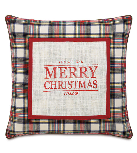 "20"" x 20"" Official Christmas Pillow Cover"