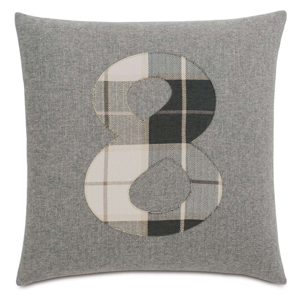 "Digits Decorative Pillow 20""x20"""