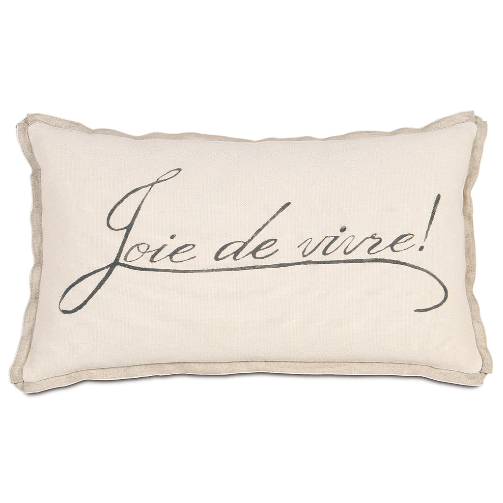 "La Maison Decorative Pillow 13""x22"""