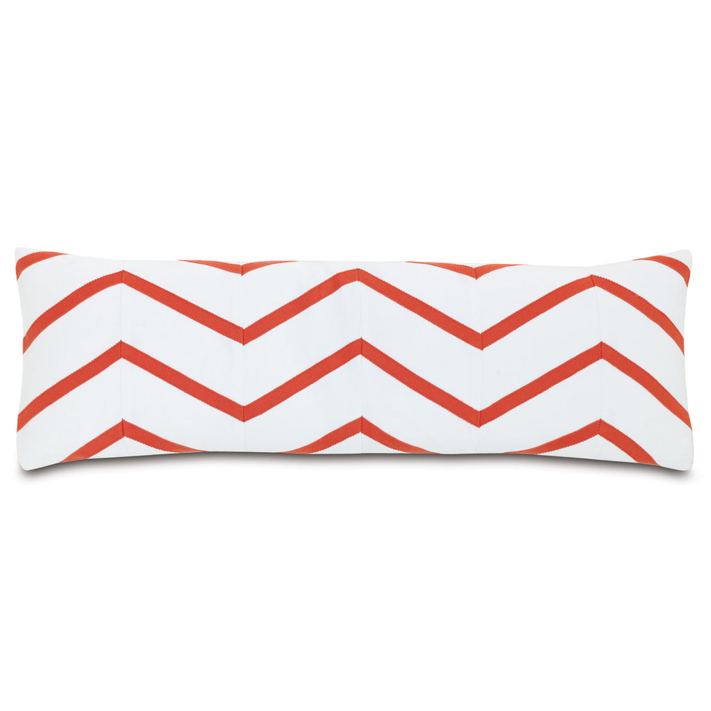 "Poolside Wave Decorative Outdoor Pillow Cover 12""x36"""