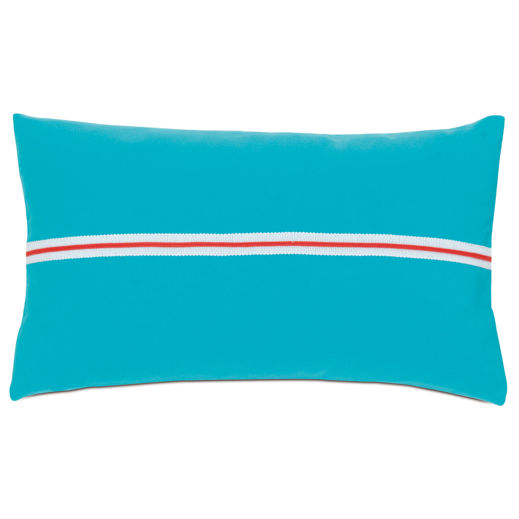 "Poolside Flop Decorative Outdoor Pillow Cover 13""x22"""