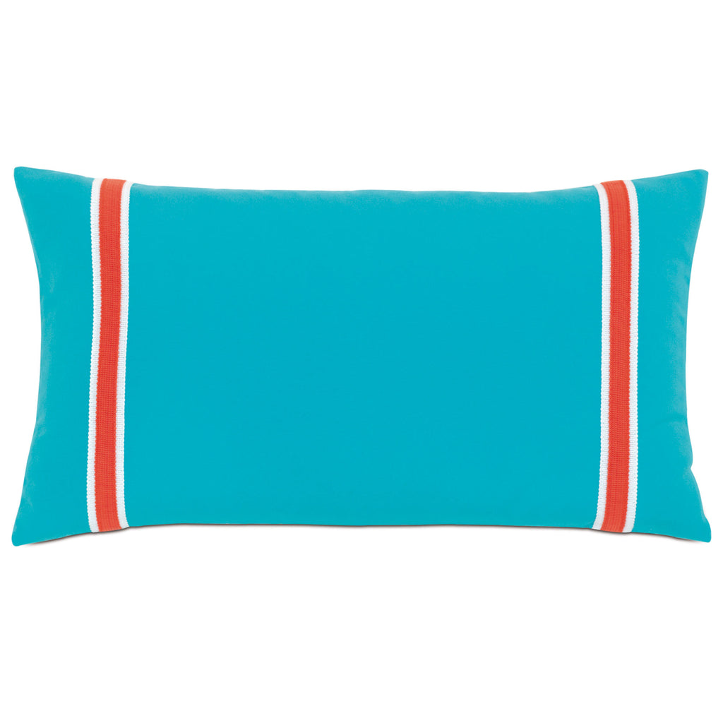 "Poolside Decorative Outdoor Pillow Cover 15""x26"""