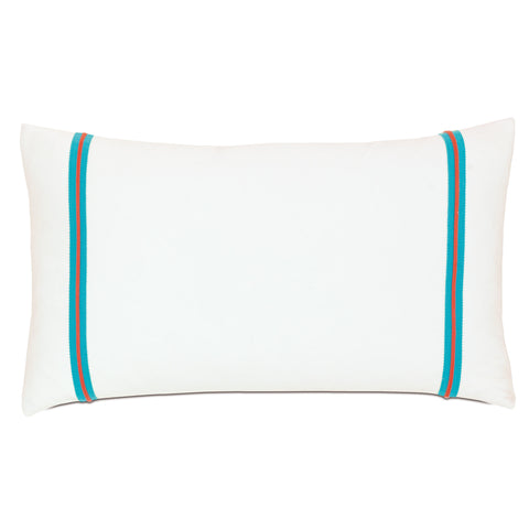 "Poolside Wading Decorative Outdoor Pillow Cover 15""x26"""