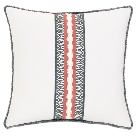 "Urban Balcony Decorative Outdoor Pillow Cover 18""x18"""