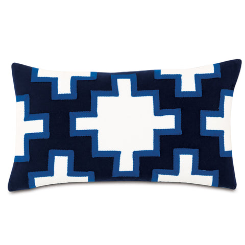 "Cobalt Decorative Outdoor Pillow Cover 13""x22"""