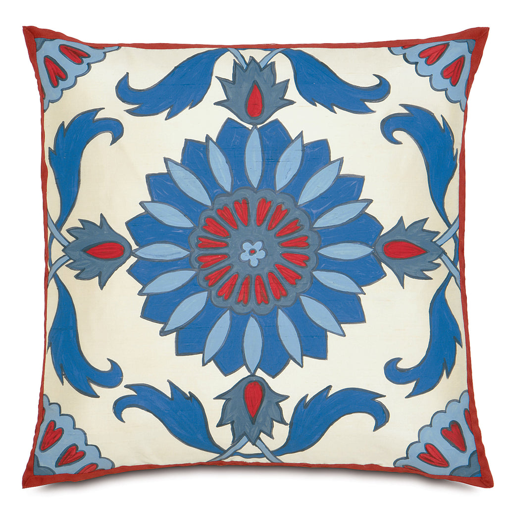"Folkloric Decorative Pillow 20""x20"""