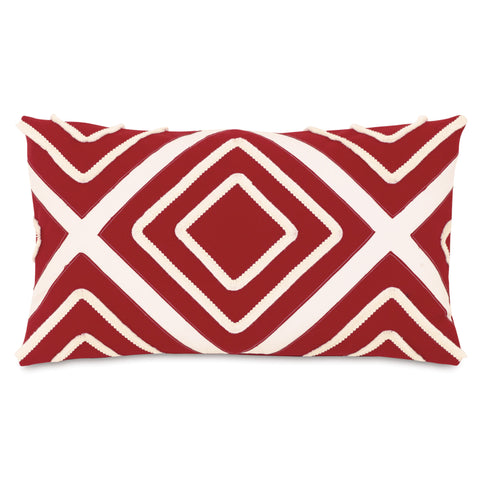 "Red Reubeus Decorative Outdoor Pillow Cover 13""x22"""