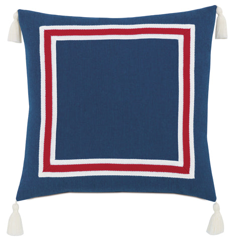 "Lake House Float Decorative Outdoor Pillow Cover 18""x18"""