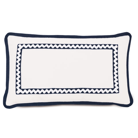"Lake House Pontoon Decorative Outdoor Pillow Cover 13""x22"""