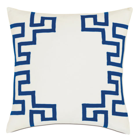 "Aegean Decorative Outdoor Pillow Cover 20""x20"""