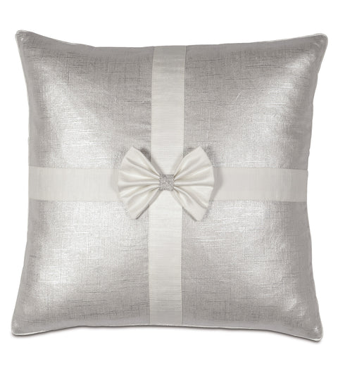 "20"" x 20"" Glamorous Christmas Present Decorative Pillow Cover"