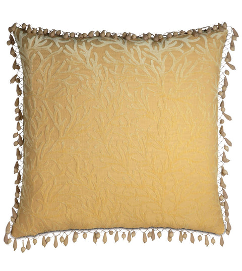 "Augustus Gold Coast Paradise Decorative Euro Sham Cover 27"" x 27"""