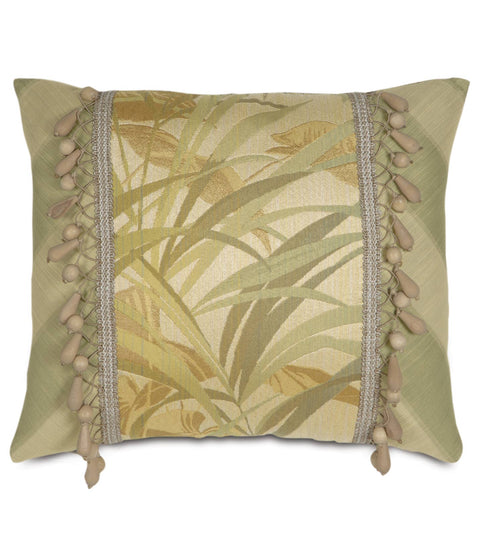 "Augustus Palm Coast Paradise Decorative Pillow Cover 15"" x 18"""
