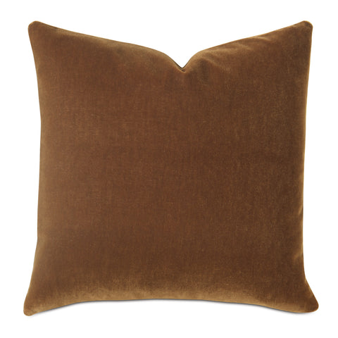 Cinnamon Luxury Mohair Decorative Pillow - Allspice