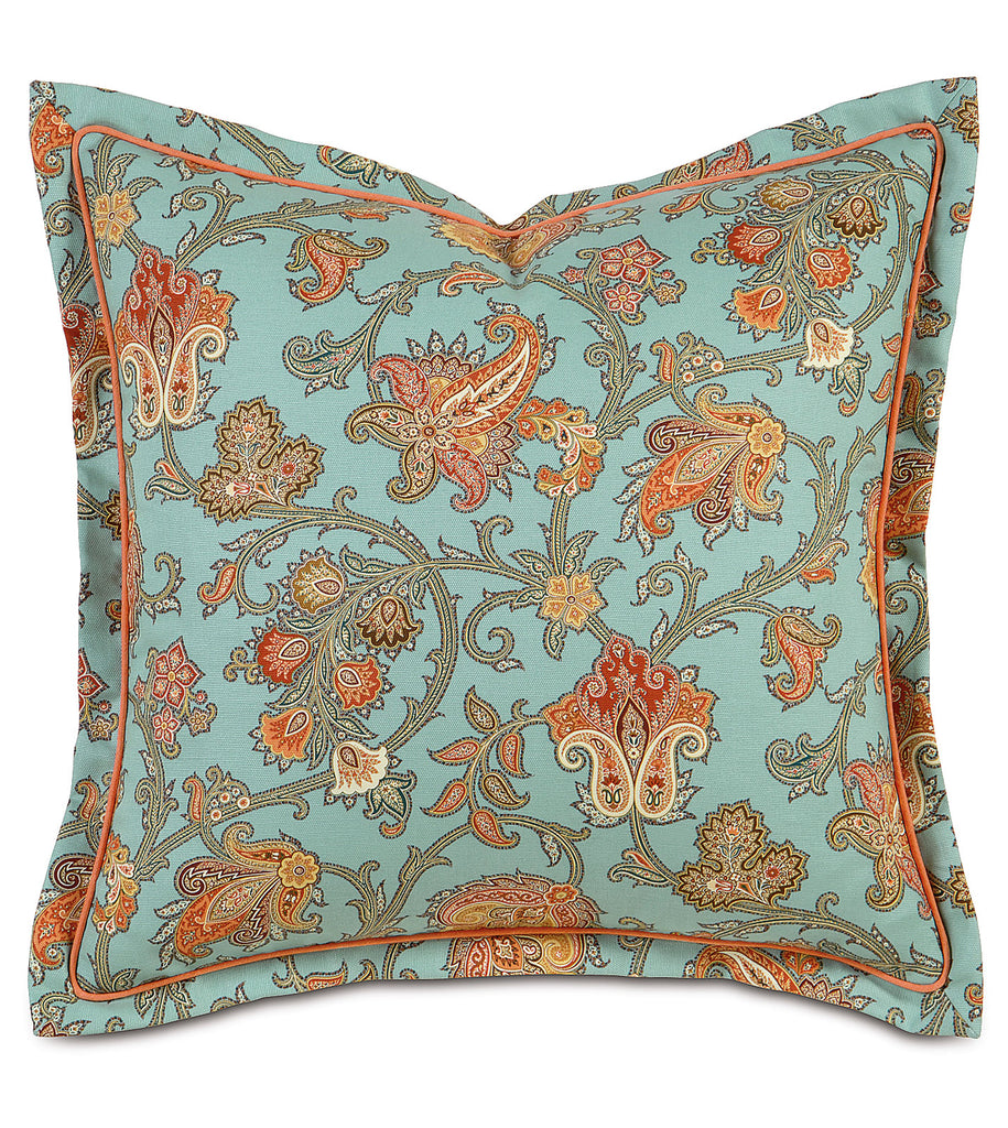 "27"" x 27"" French Country Home Euro Pillow Cover"