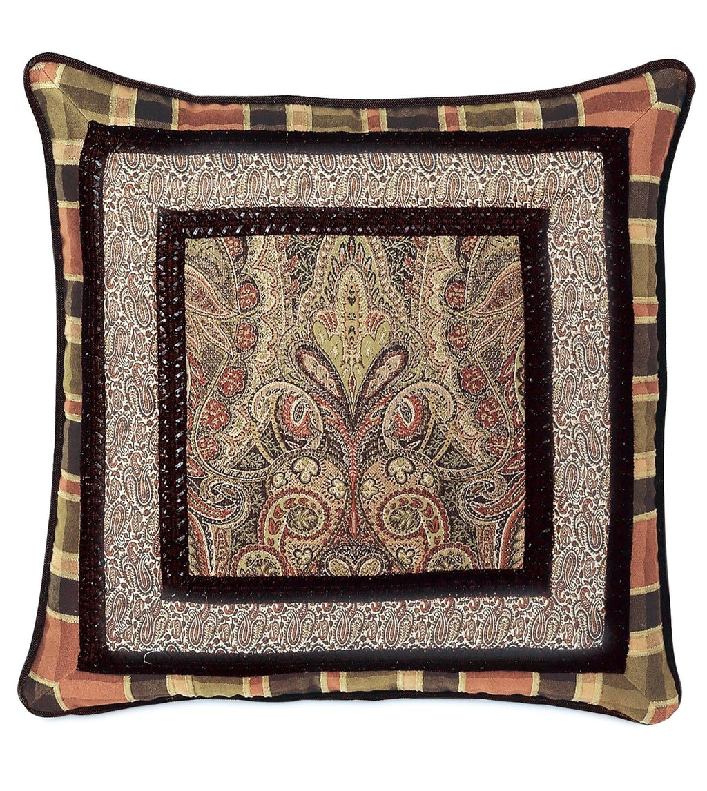 "24"" x 24"" Broderick Collage Decorative Pillow Cover"