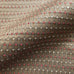 Chocolate Brown and Red Texured Woven Upholstery Fabric