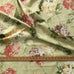 Lime Country Chic Floral Jacquard Upholstery Fabric 54""