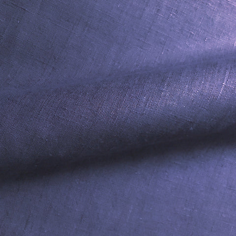 Plum Solid Linen Upholstery Fabric 54""