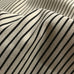 Ivory French Laundry Striped Cotton Upholstery Fabric 54""