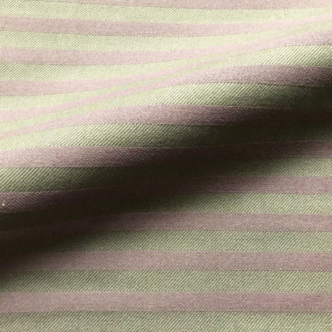 Lilac Purple French Country Stripe Upholstery Fabric 54""