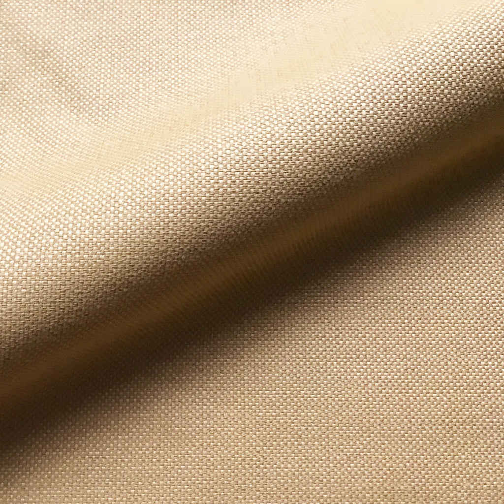 Tan Textured Solid Woven Jacquard Upholstery Fabric 54""