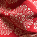 Red Boho Country Chic Medallion Jacquard Fabric 54""
