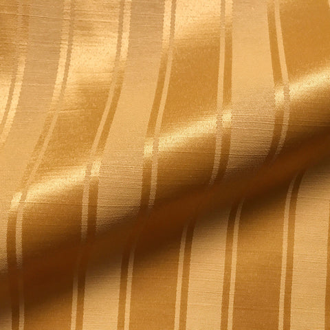 Traditional Bronze Stripe Upholstery Fabric 54""