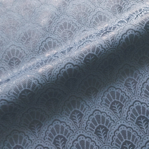 Royal Blue French Traditional Damask Jacquard Upholstery Fabric 54""