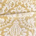 Churchill Straw Damask Print Fabric