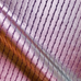 Purple Pleated Upholstery Fabric
