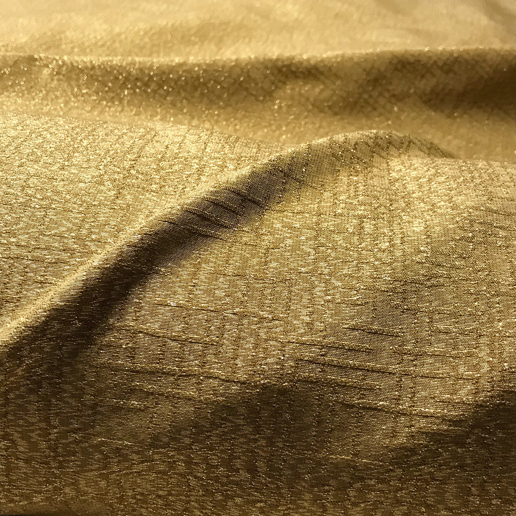 Gold Sparkle Upholstery Fabric