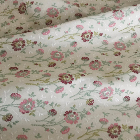 English Countryside Floral Upholstery Fabric