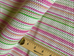 Spring Striped Seersucker Upholstery Fabric