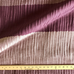 Purple Wide Striped Upholstery Fabric