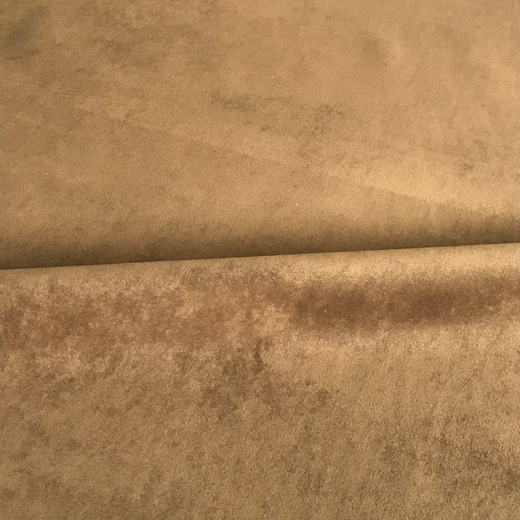 Brown Velvet Upholstery Fabric