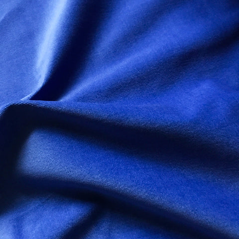 Deep Blue Velvet Upholstery Fabric