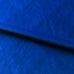 Solid Royal Blue Modern Velvet Upholstery Fabric